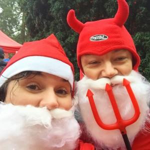 Santa Dash for Myton Hospice