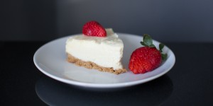 White chocolate cheesecake | recipe |Mother Bird blog